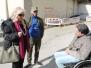 Inaugurazione nuova rampa per pensionato disabile